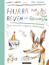 Hurray for Fox and Piglet - 3 in 1 av Bjørn F. Rørvik (Innbundet)