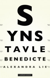 The Eye Chart av Benedicte Alexandra Lie (Innbundet)