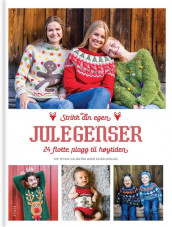 Christmas knitwear for the whole family av Siv Dyvik (Innbundet)
